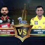 RCB vs CSK 35th Match Prediction and Tips IPL 2021