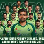 Pakistan Squad for ICC Men's T20 World Cup 2021