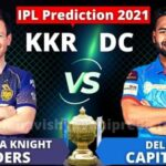 KKR vs DC 41st Match Prediction and Tips IPL 2021