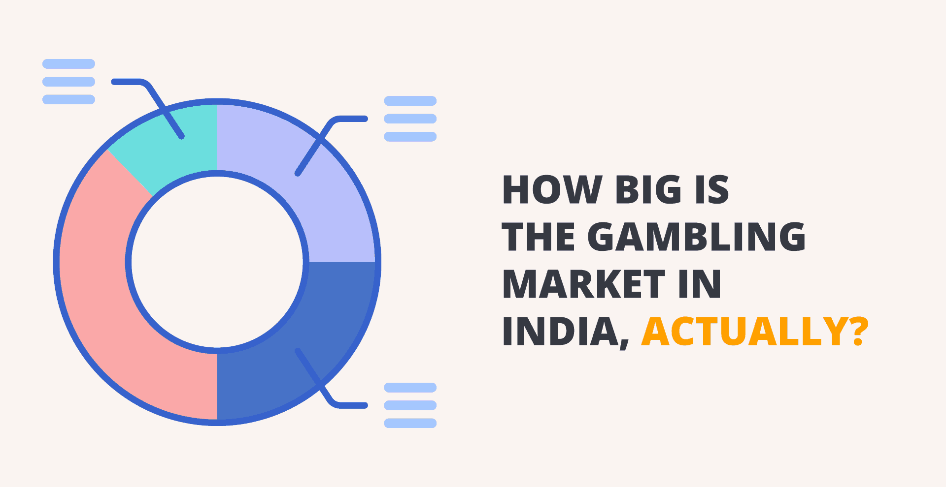 How big is the Indian Gambling Industry worth?